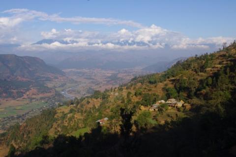 A landscape of Nuwakot district, Nepal (Photo: DD Poudel)